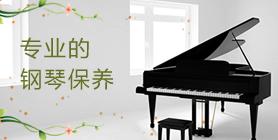 专业的钢琴保养